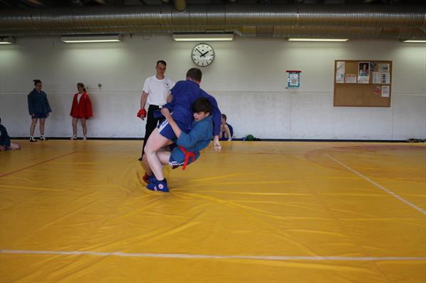 Открытые соревнования по борьбе самбо 29-05-2016