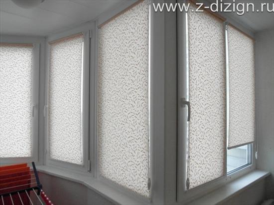 Шторы на пластиковые окна фото