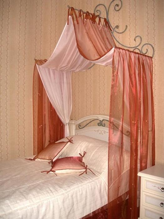 Балдахин на кровать как сделать своими руками