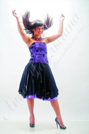 Платье Сирень