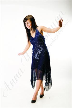Платье Ящерка