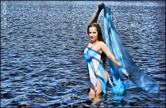 Платье Волна